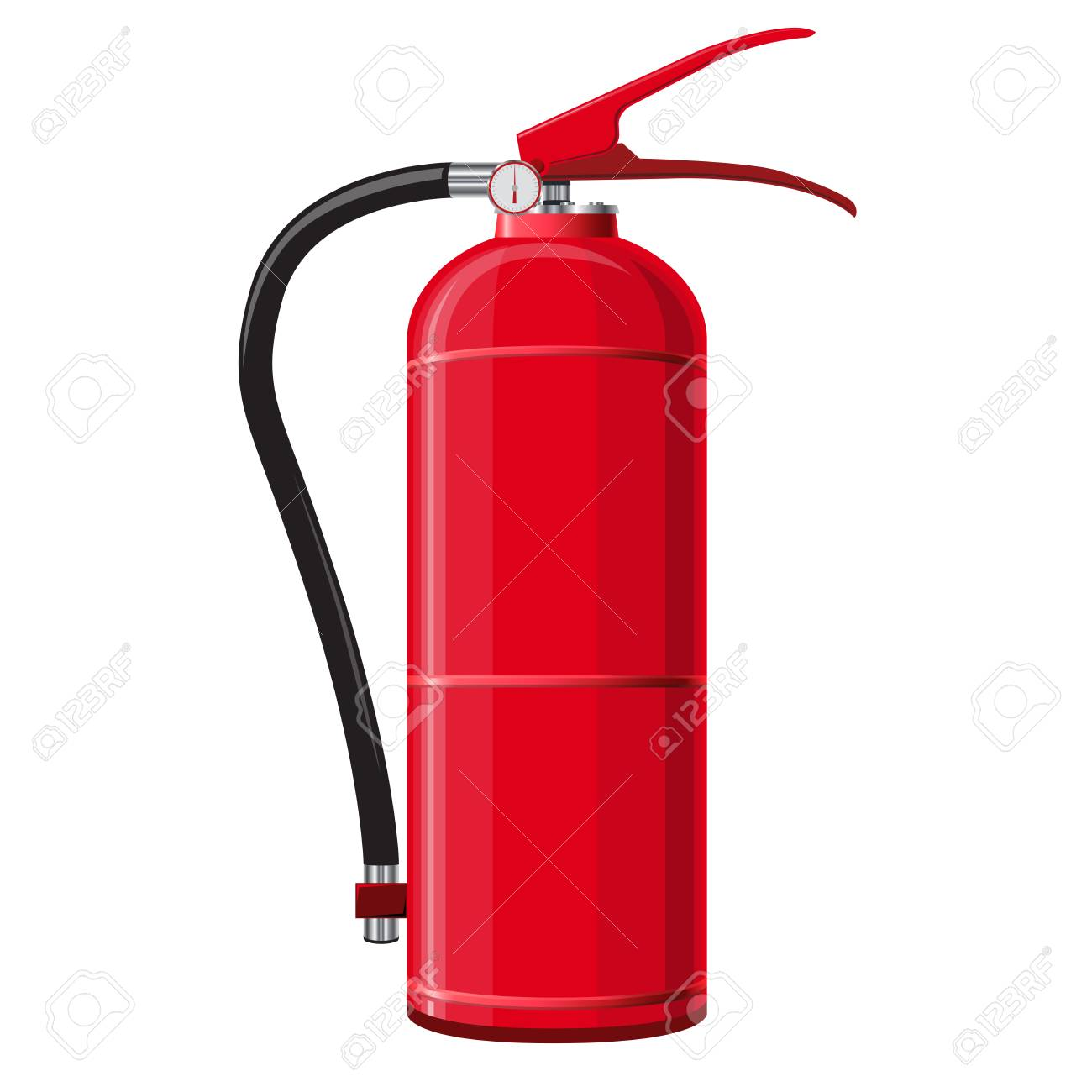 79733071 red extinguisher with hose safety fire fighting equipment firefighting equipment and fire protection